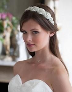 Haarreif für die Brautfrisur